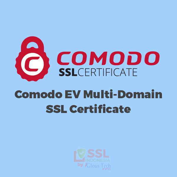 Jual Comodo EV SSL Multi Domain Certificates Murah - SSL Indonesia